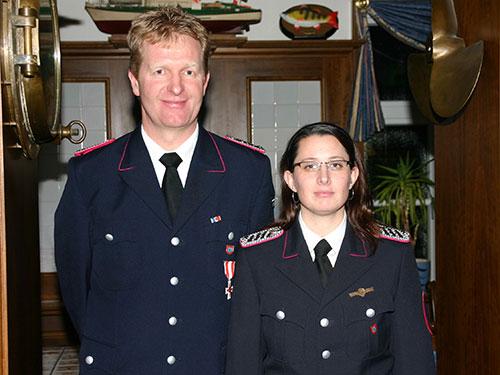 Das neue Führungsteam - Christian Peters und Claudia Motzke
