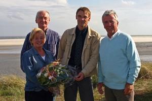 v.l.: Gisela Schroer, Dirk Klawiter, Michael Hoff, Helmut Schroer