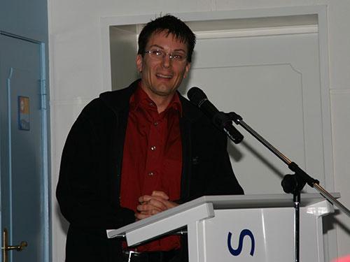 Uwe Rühl, Leiter der neuen Leitstelle Nord in Harrislee stellte sich vor...