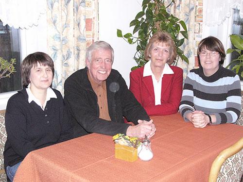 v.l.: Anita Prasse, Gert Grevenitz, Marianne Holzer-Martinen, Birte Winkler