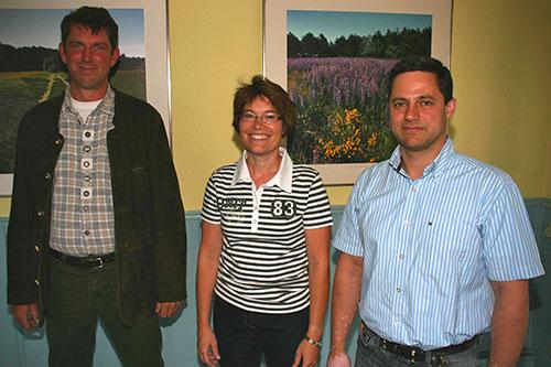 vl. Bernd Dell-Missier, Elke Dethlefsen, Cornelius Bendixen