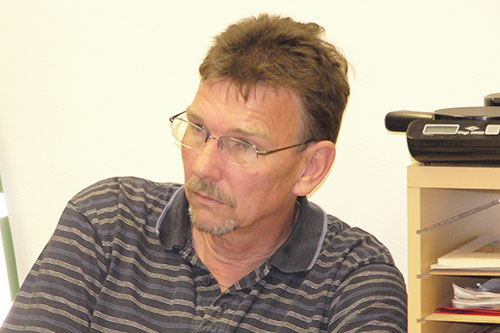 Landespolizeidirektor Burkhard Hamm