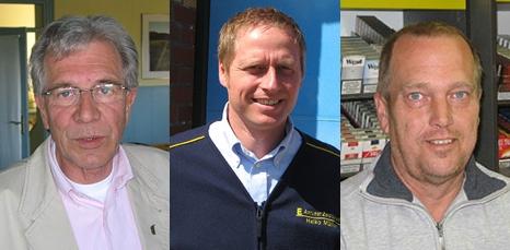 Jürgen Jungclaus, Heiko Müller, Harry Jensen