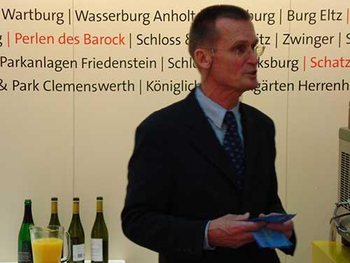 Knud Jörgen, Leiter der DZT-Auslandsvertretung in Wien