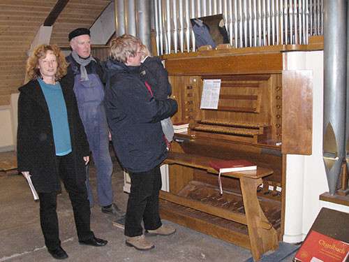 v.l.: Pastorin Friederike Heinecke, Andreas Herber, Hans-Peter Traulsen