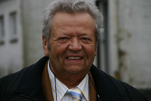 Klaus Theus, wie er den Insulanern in Erinnerung bleibt