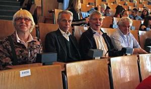 Vertreter der Amrumer Rotarier
