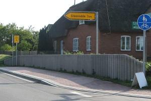 """Kritikpunkt """"Stützmauer"""" in Süddorf"""