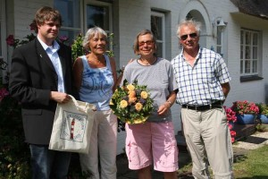 Lars Rickerts, Helga Schwochow, Brigitte Heildebrand, Hartmut Schwochow