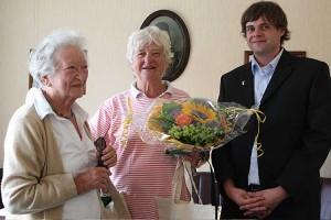 Irene Schulcz und Bianca Freymuth-Bromby, Lars Rickerts