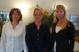 Angela Fraytag, Martina Hoff, Brigitte Bories