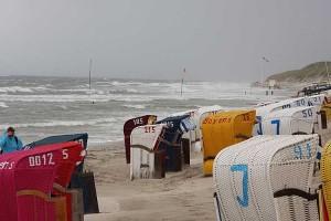 Gesichert... Strandkörbe in Norddorf