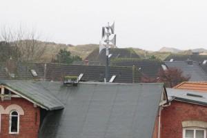 Neue elektronische Sirene auf dem Seeheim in Norddorf