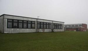 die beiden zu erneuernden Gebäude
