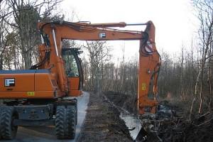 Baggerarbeiten 2005