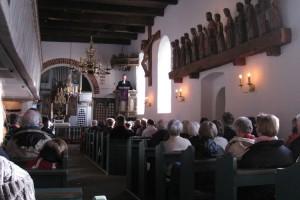 Gottesdienst auf friesisch