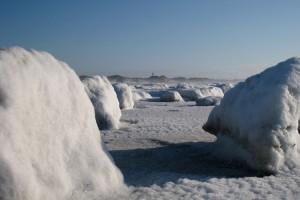 Eisberge am Strand (kt)