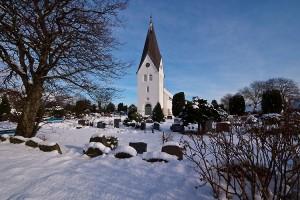 Kirche in Nebel