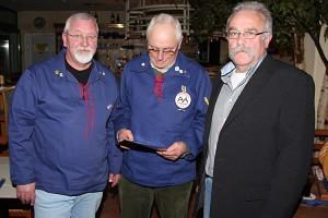 vl. Ulli Petersen, Volkert Lucke, Jürgen Töllner