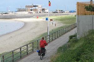 Nichts neues... Fahrräder und Strandkörbe am Nordstrand