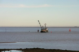 Ausbaggerungen... zuletzt zahlte die Reederei und das Amt Amrum