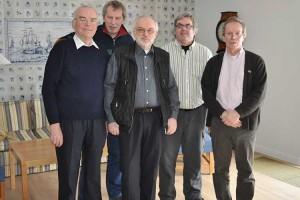v.l. Erk Hassold, Carsten Kock, Jens Quedens, Peter Willers und Dr. Volkert Faltings