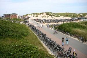 Die enormen Fahrradmengen werden eine feste Abstellfläche bekommen