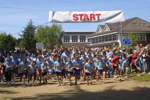 436 Läufer am Start...
