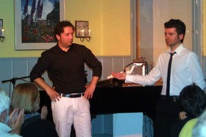 Die Egoisten... Wolf und Dimitrios