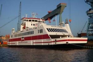 Vergangenheit...wenn Sie diesen Artikel lesen, dürfte das Schiff schon unterwegs zu den Inseln sein...