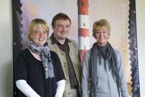 Martina Hoff, Michael Fojcik und Hannelore Müller Tietchen