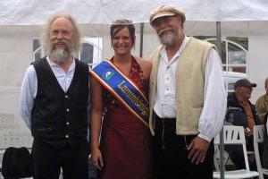 """Folkduo """"Querbeet"""" mit der Lammkönigin"""