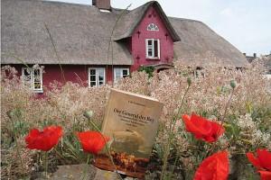 Im Hintergrund das Haus von Hark Olufs, das heute noch in Süddorf steht
