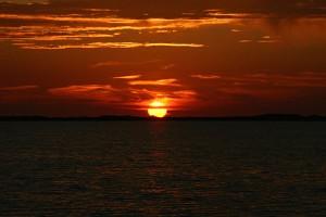 Typischer Sonnenuntergang...
