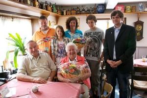 Familie Runge und Ehepaar Schulz