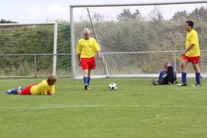 Die vielen Gegentore machten die TSV-Hintermannschaft unzufrieden