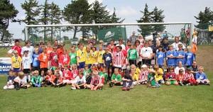 Riesen Beteiligung bei der Fußballschule