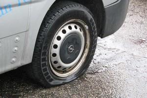 An diesem Fahrzeug werden die Reifen nicht alt...