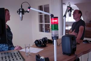 Sveja Hogrefe im Interview mit Bernhard Hoecker