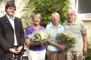Lars Rickerts, Rita Herrmann, Elke und Helmut Kagelmann
