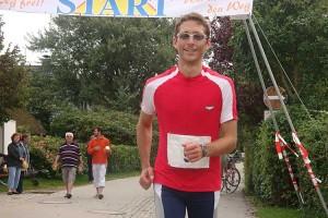 Streckenrekordinhaber Jan- Peter Brückner...