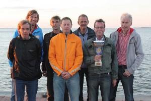 v.l. Rainhard Jannen, Stephan Dombrowski, Michael Hoff, Rainer Classen, Klaus Claußen, Harald Lemcke,  Karsten Lange-Rickmers