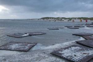 Bohlenweg vom Nebler Strand...