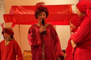 Runa Bendixen als König von Rotasia