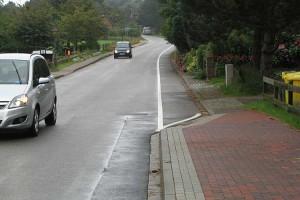 Verlängerung des Fahrradweges auch wenn keiner auffahren darf...