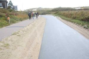 Der Weg zum Strand...