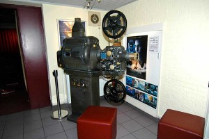 Ausstellungsstück... der alte Projektor