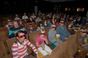 Wirkt noch ungewohnt... die 3D-Brillen