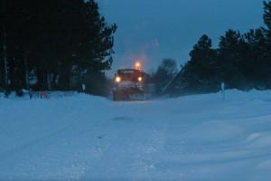 Ohne die fleißigen Schneeschieber wäre schon lange kein Durchkommen mehr...(Lückel)