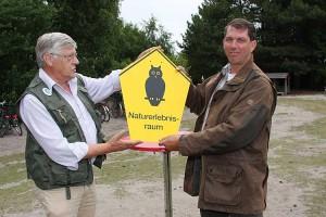 Bürgermeister Bernd Dell-Missier freut sich über das Erreichte...